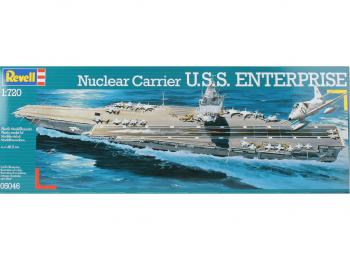 Revell model ladje U.S.S. Enterprise