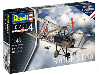 Revell model letala British S.E. 5a