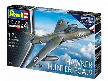 Revell model letala Hawker Hunter FGA.9 89414