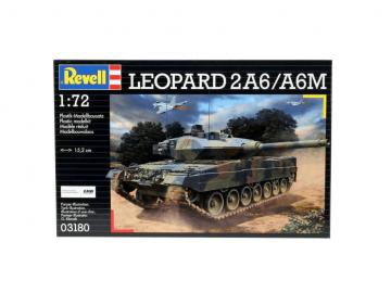 Revell model tanka Leopard 2A6 A6M
