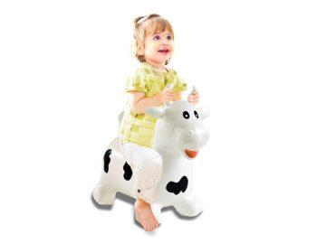 igrača napihljiva kravica hop hop
