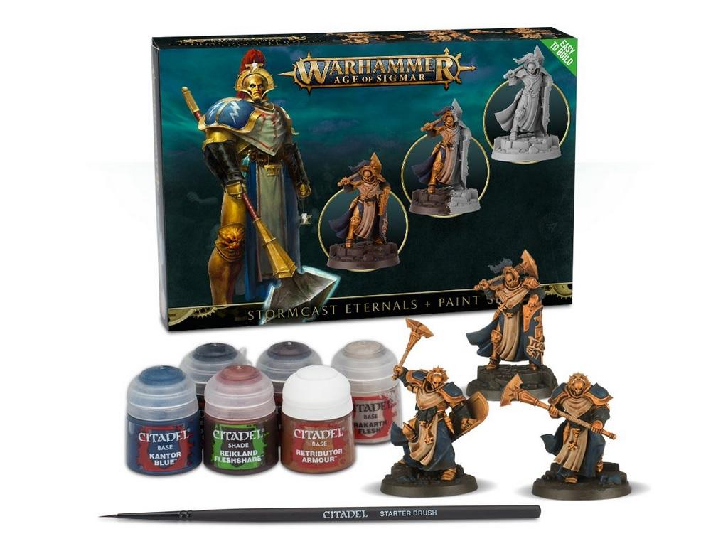 Warhammer Age of Sigmar - set z barvami
