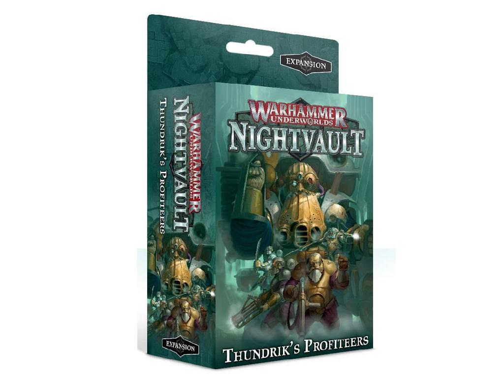 Warhammer Underworlds Nightvault - Thundriks profiteers