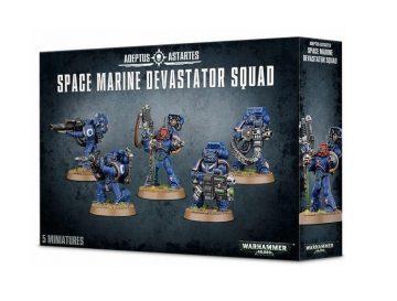 Warhammer 40000 - Space Marine Devastator Squad