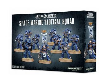 Warhammer 40000 - Space Marine Tactical Sqad