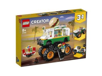 LEGO Creator 31104 Pošastni tovornjak s hamburgerji
