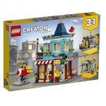 LEGO Creator 31105 Trgovina z igračami v mestni hiši