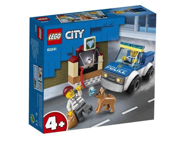 LEGO City 60241 Policijski pes