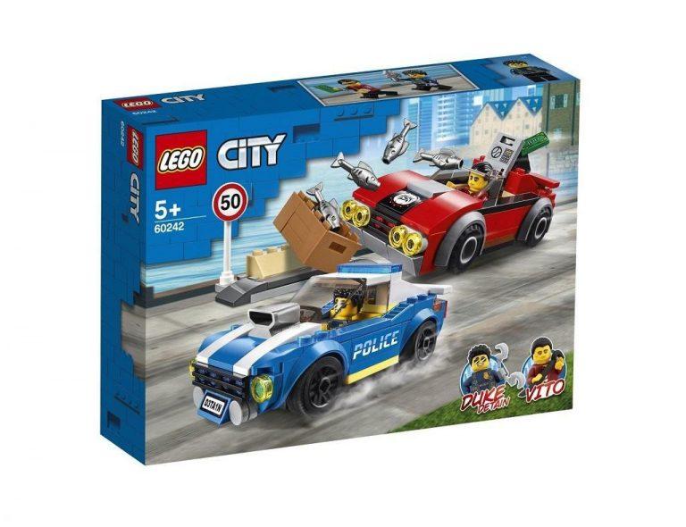 LEGO City 60242 Aretacija na avtocesti