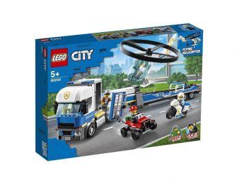 LEGO City 60244 Transport policijskega helikopterja