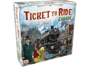 Ticket to ride Europe družabna igra
