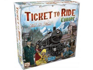 Ticket to ride Europe družabna igra