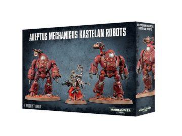 Warhammer 40000 - Adeptus Mechanicus Kastelan Robots