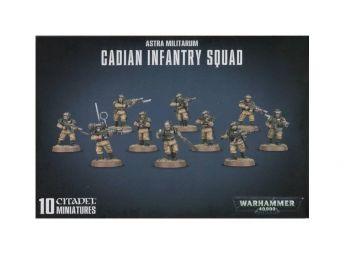 Warhammer 40000 - Astra Militarium - Cadian Infantry Squad