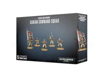 Warhammer 40000 Cadian Command Squad