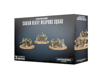 Warhammer 40000 Cadian Heavy Weapons Squad