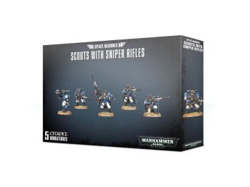 Warhammer 40000 - Scouts With Sniper Rifles
