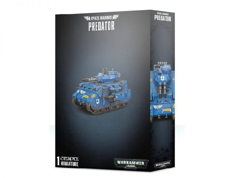 Warhammer 40,000 - Space Marines - Predator
