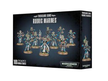 Warhammer 40000 - Rubic Marines