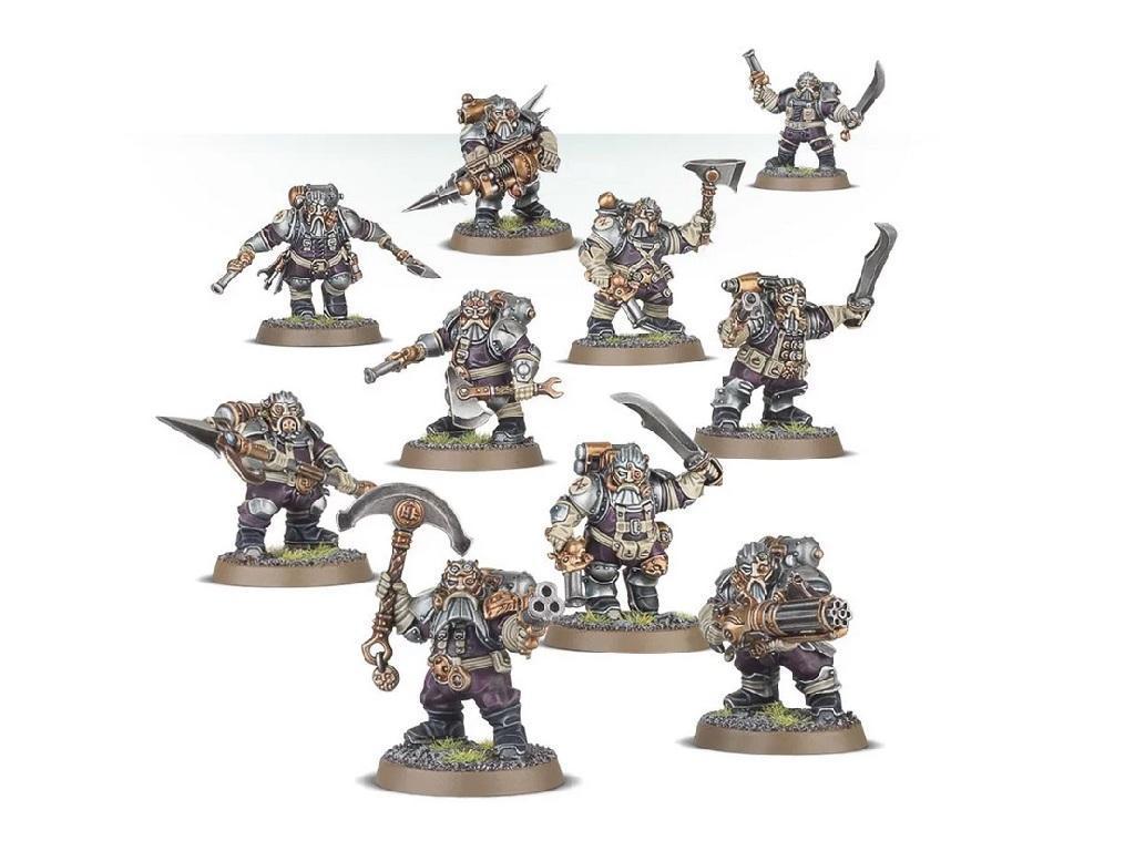 Warhammer – Age of Sigmar – Arkanaut Company 2