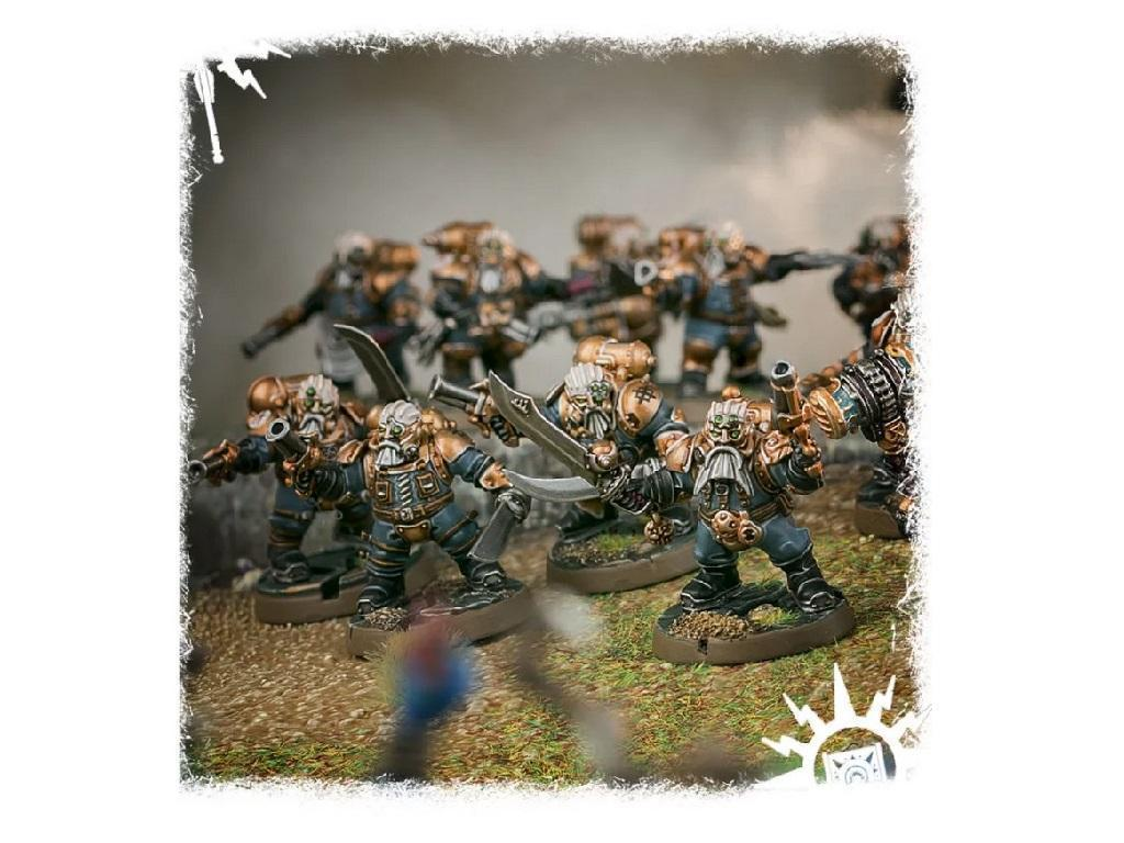 Warhammer – Age of Sigmar – Arkanaut Company 4