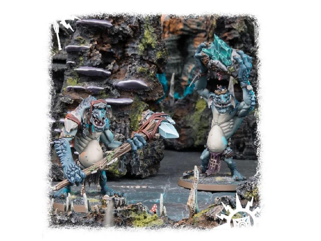 Warhammer – Age of Sigmar – Rockgut Troggoths 3