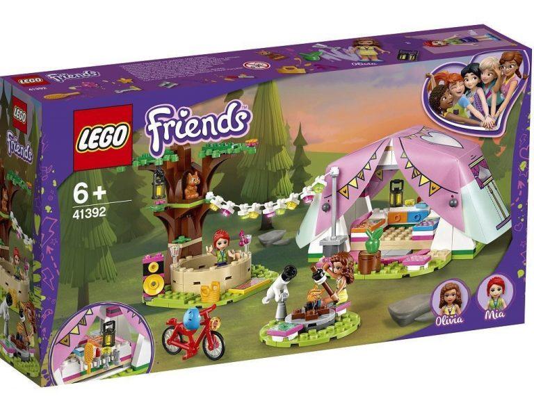 LEGO Friends 41392 Razkošno kampiranje v naravi