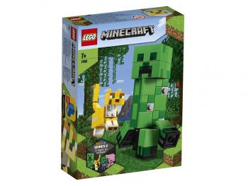 LEGO Minecraft BigFig Creeper in Ozelot 21156