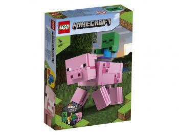 LEGO Minecraft BigFig pujs z zombijem 21157