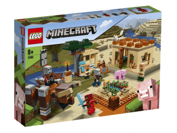 LEGO Minecraft Plenilski napad 21160