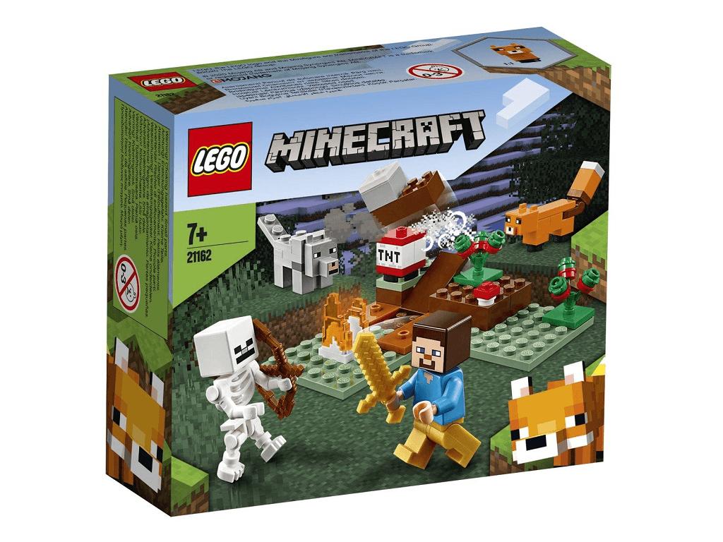 LEGO Minecraft Pustolovščina v tajgi 21162