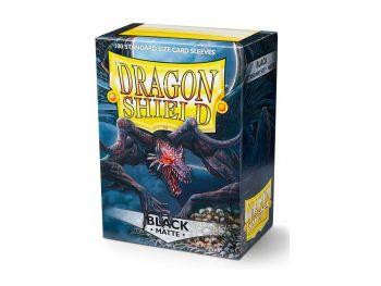 Ovitki za karte - Dragon Shield - Mat črni