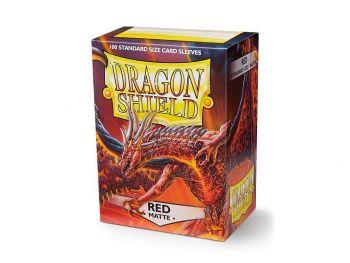 Ovitki za karte - Dragon Shield - Mat rdeči