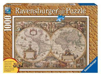 Sestavljanka Antični zemljevid sveta 1000 delna
