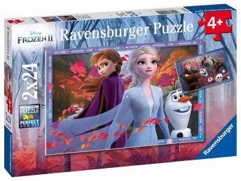 Sestavljanka Frozen 2 2x24d
