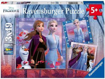 Sestavljanka Frozen 2 3x49 delna
