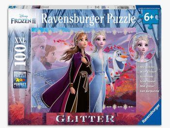 Sestavljanka Frozen 2 z bleščicami 100d
