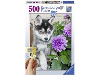 Sestavljanka Husky 500 delna