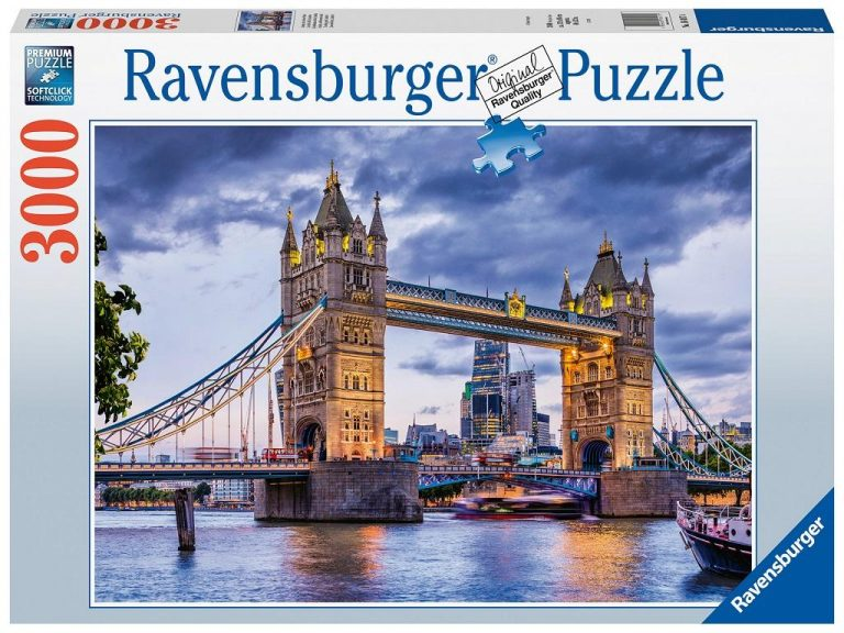 Sestavljanka London Tower bridge Ravensburger 3000 delna