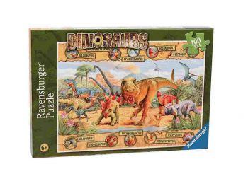 Sestavljanka Pradavnina dinozavri 100d