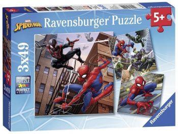 Sestavljanka Spiderman 3x49 delna