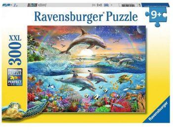 sestavljanka delfini ravensburger 300 kosov