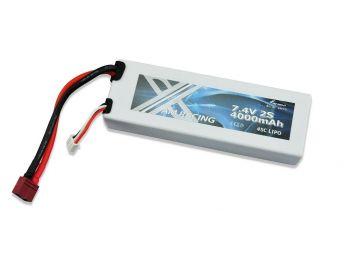 Polnilna baterija LIPO 7.4V 4000mAh 45C