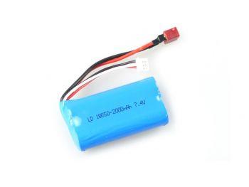 Polnilna baterija LI-ION 7.4V 2000mAh T-Priključek