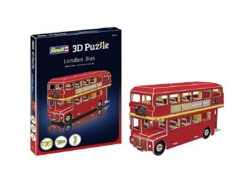 3D sestavljanka London bus Revell 00113