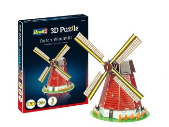 3D sestavljanka Dutch Windmill Revell 00110