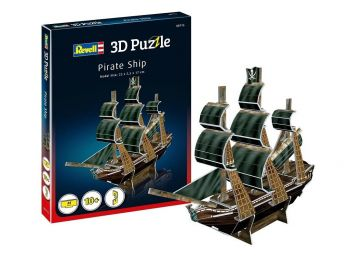 3D sestavljanka Pirate Ship Revell 00115