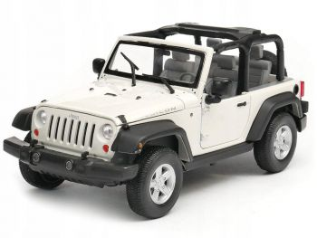 Kovinski model avta Welly 2007 Jeep Wrangler