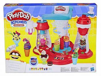Plastelin Play Doh kuhinja izdelovalec sladoleda