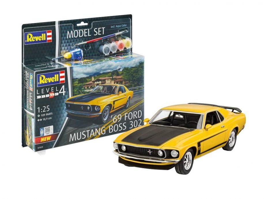 Revell Model Set - 69 Ford Mustang 67025 igrače